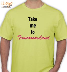 take-me-to-tomorrowland - T-Shirt