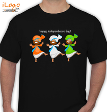 Independence Day Tricolor-Tee T-Shirt