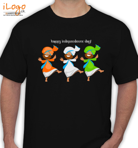 Tricolor-Tee - T-Shirt