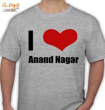 Uttar Pradesh anand-nagar T-Shirt