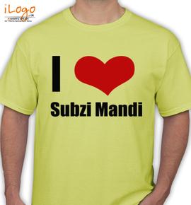Subzi-Mandi - T-Shirt