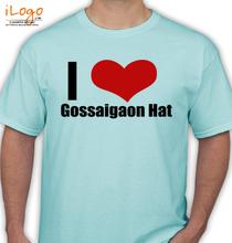 Assam Gossaigaon-Hat T-Shirt