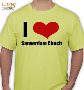 Sanverdam-Chuch - T-Shirt