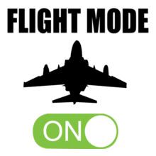 Flight-Mode-on T-Shirt