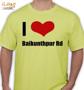 baikunthpur rd - T-Shirt