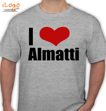 Karnataka almatti T-Shirt