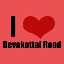Tamil Nadu Devakottai-Road T-Shirt