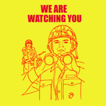 Indian Air Force We-are-watching-you T-Shirt