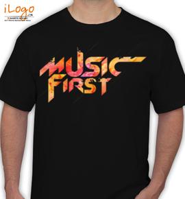 music first  - T-Shirt