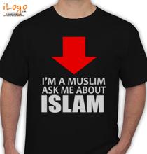 Islam Muslim-Grey-ASK-ME-ISLAM T-Shirt