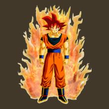 Goku goku-fire T-Shirt