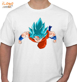 goku flying - T-Shirt