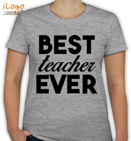 Best Teacher - T-Shirt [F]