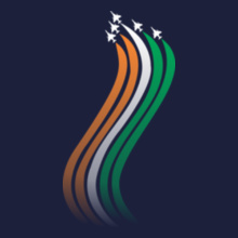 Indian Air Force t-shirts for Men and Women [Editable Designs]