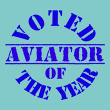Voted-Aviator-of-the-year T-Shirt