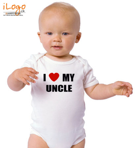 I-LOVE-ME-UNCLE - Baby Onesie for 1 year