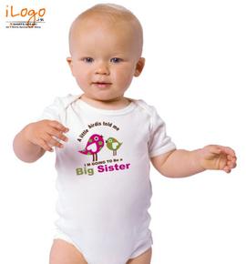 BIG-SISTER - Baby Onesie