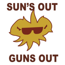 Onesies SUN%S-OUTN-GUNS-OUT T-Shirt