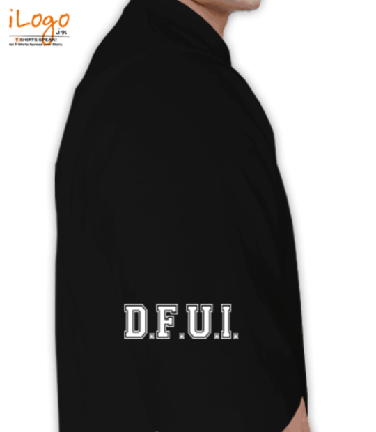 black dfu merchandise:frontr