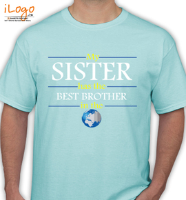 Best-Brother-in-world - T-Shirt