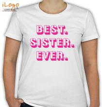Rakshabandhan Best-sister T-Shirt