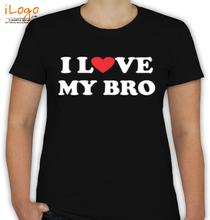 Rakshabandhan I-love-my-bro T-Shirt