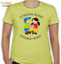 Rakshabandhan strong-bond-women T-Shirt