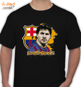 Barcelona messi - T-Shirt