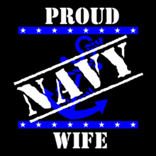 Proud-navy-wife T-Shirt
