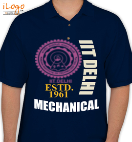 Iit delhi63 personalized polo shirt at best price for Custom polo shirts canada