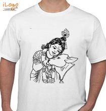 Janmashtami krishna-cow T-Shirt