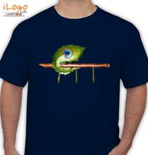 Janmashtami ironsheetpeacockfeatherkeyhanger T-Shirt
