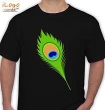 Janmashtami ironsheetpeacock T-Shirt