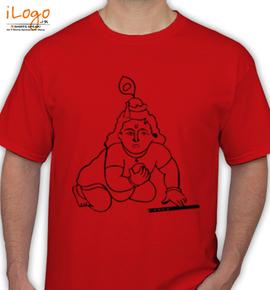 krishna- - T-Shirt