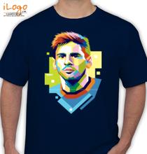 Barcelona Messi-tee T-Shirt
