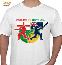 Cricket  ENGLAND-AND-ASTRALIA T-Shirt
