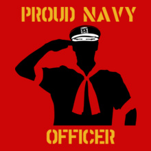 Proud-Navy-Officer T-Shirt