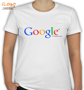 Google Feeling Lucky - T-Shirt [F]