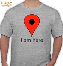 GOOGLE Google-Here T-Shirt