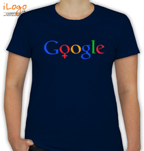 GOOGLE Google-Female-T T-Shirt