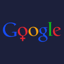 GOOGLE Google-Female-T T-Shirt