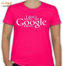 GOOGLE Google-Knows T-Shirt