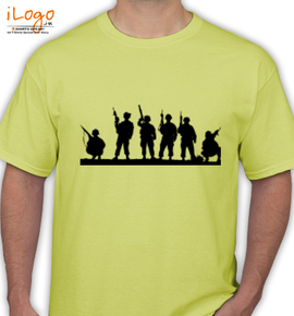 Indian-Army-group - T-Shirt