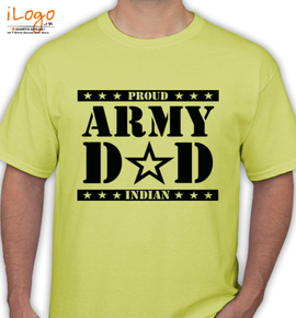 indian-army-dad - T-Shirt