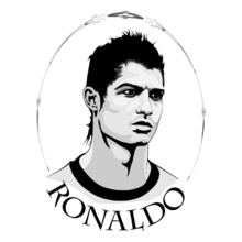 Real Madrid Ronaldo-rear-madrid T-Shirt