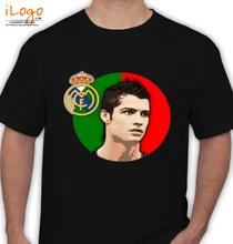 Real Madrid Ronaldo-hala-madrid T-Shirt