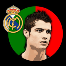 Real Madrid Ronaldo-hala-madrid T-Shirt