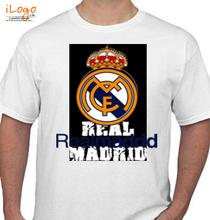 Real Madrid Real-Madrid-white T-Shirt