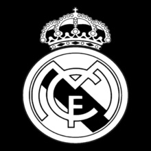 Real Madrid Real-madrid-black-and-white T-Shirt