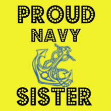 Proud-Navy-Sister T-Shirt